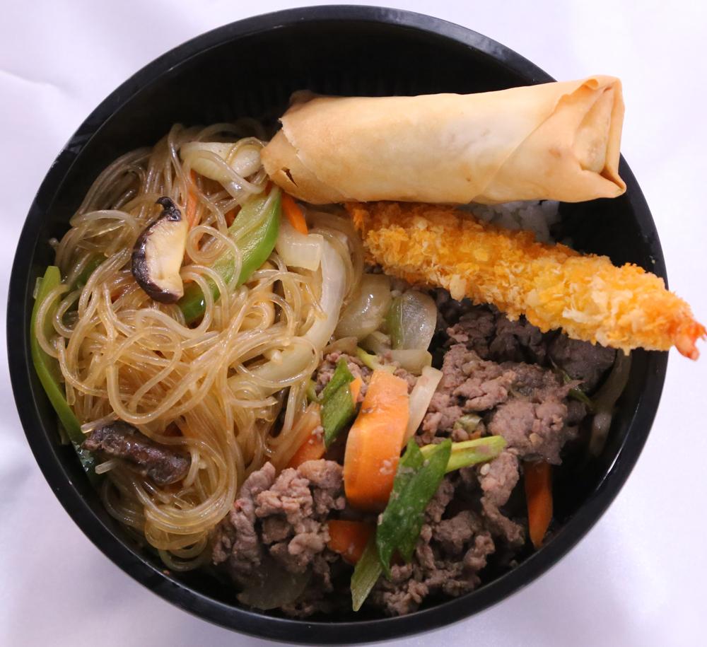 bulgogi beef bbq with rice